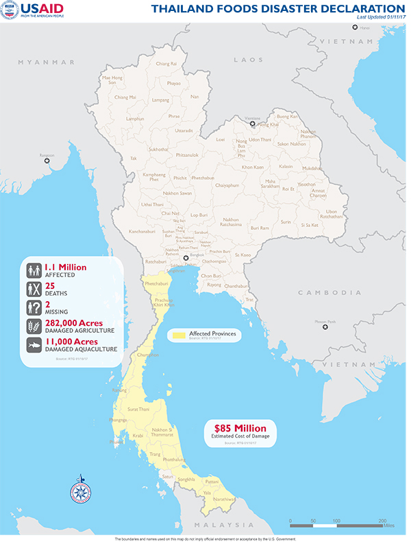 Thailand Disaster Assistance Thailand US Agency for
