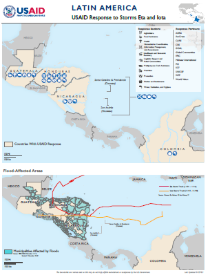 01.29.2021 Latin American Storms Response Map