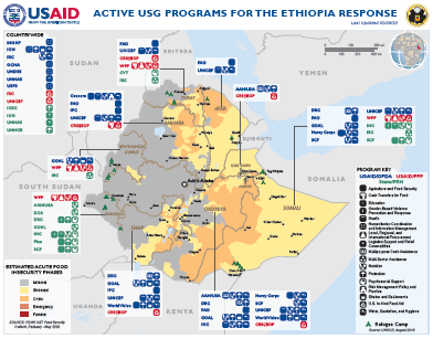 02.03.20 - Active USG Programs for the Ethiopia ResponseMap