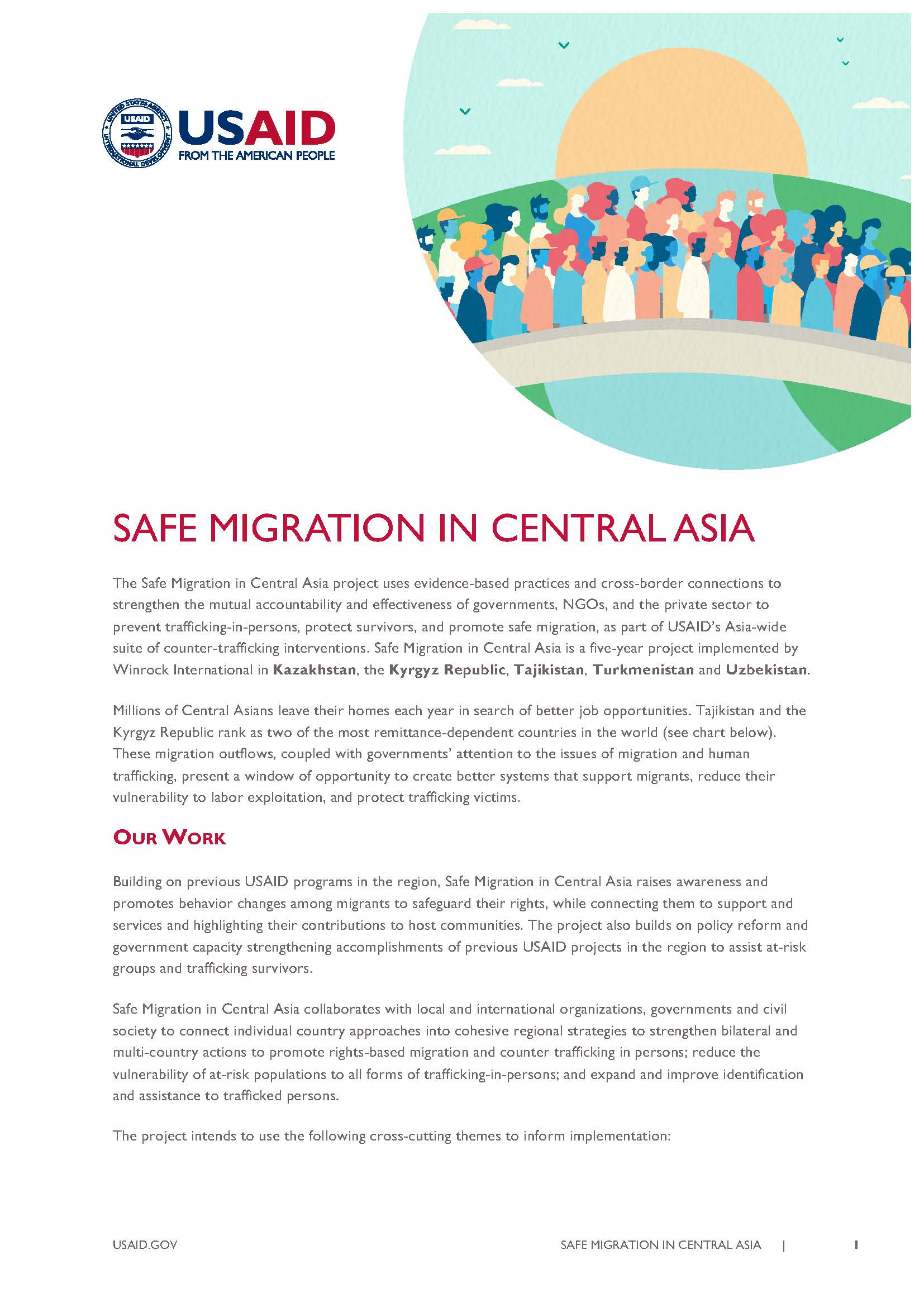 Safe Migration in Central Asia Fact Sheet
