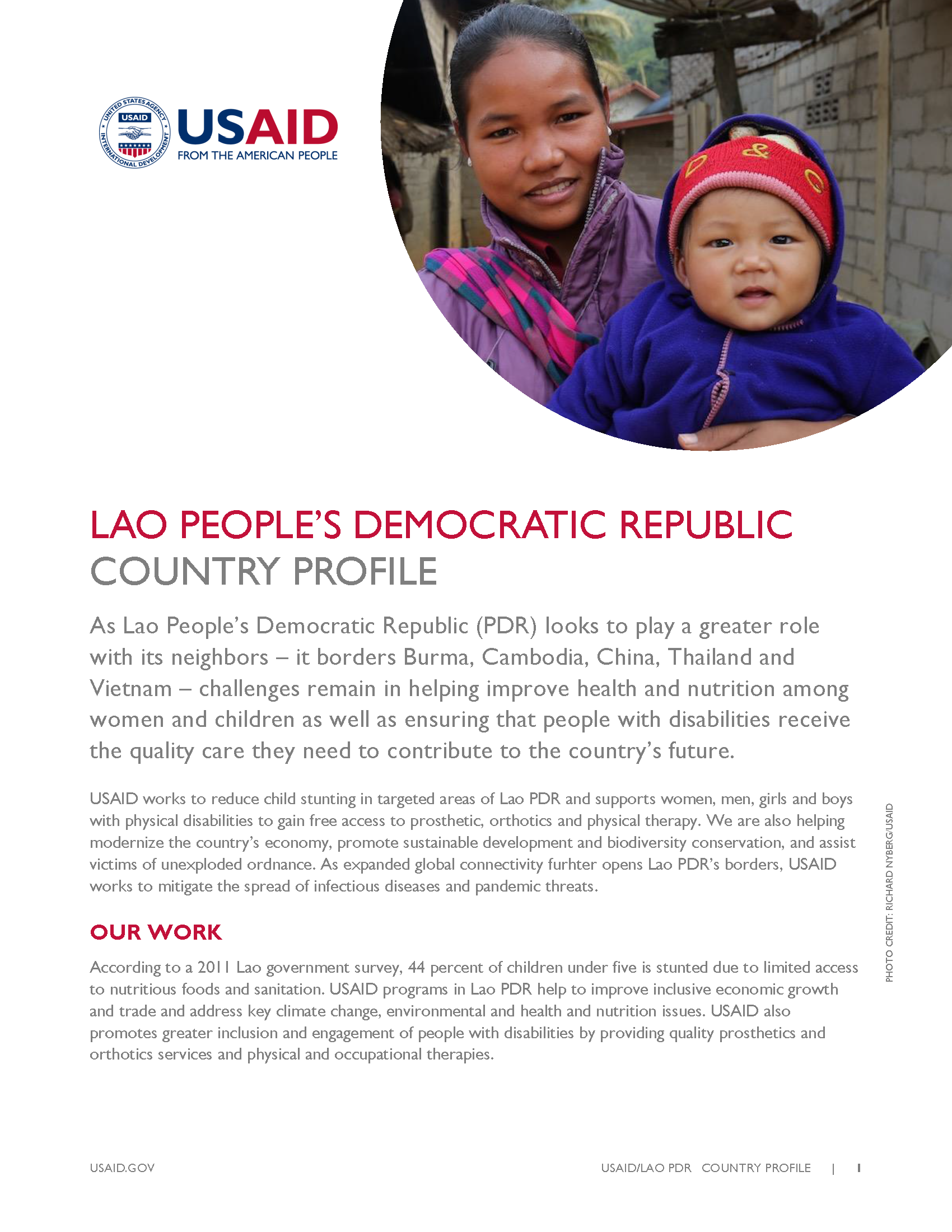 Laos Country Profile