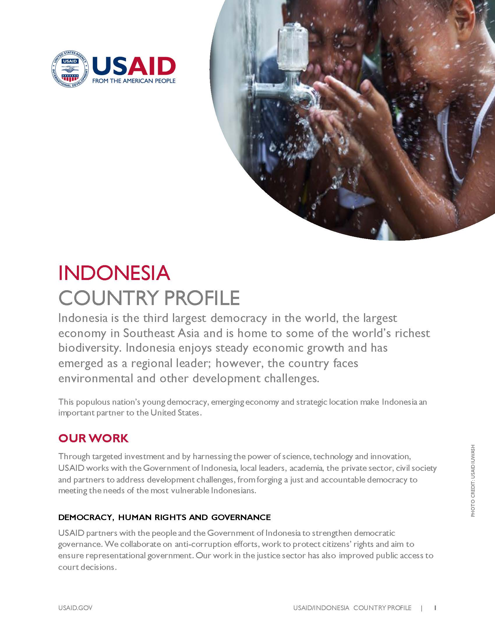 Indonesia Country Profile [PDF]