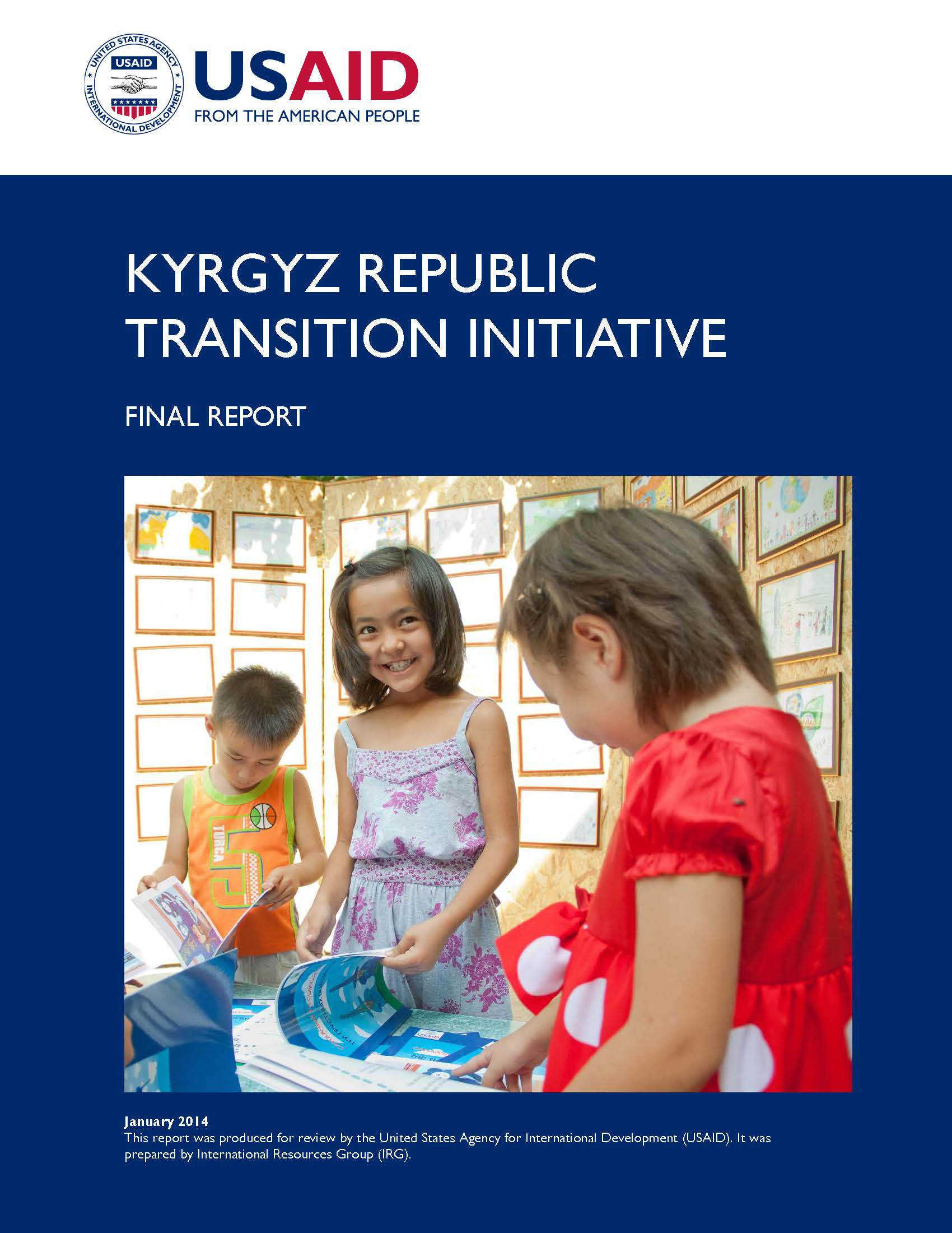 KRTI Kyrgyz Republic Final Report