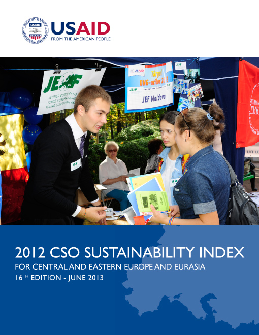 2012 CSO Sustainability Index