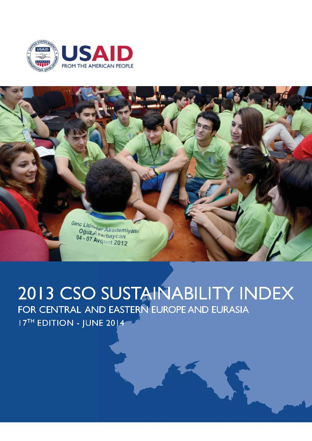 CIVIL SOCIETY ORGANIZATIONS (CSO) SUSTAINABILITY in 2013