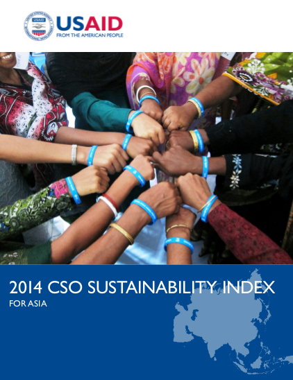 2014 CSO Sustainability Index for Asia