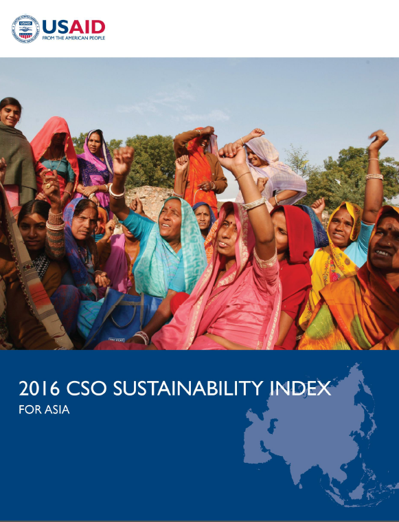 2016 CSO Sustainability Index for Asia