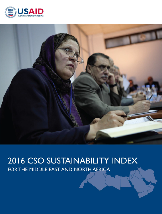 2016 CSO Sustainability Index for the Middle East and North Africa