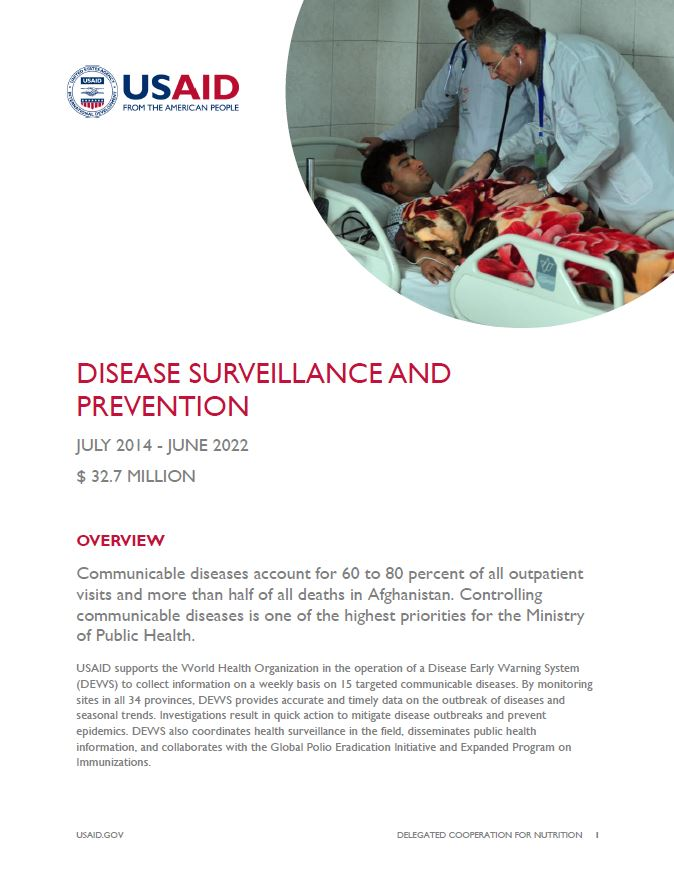 Disease Surveillance and Prevention