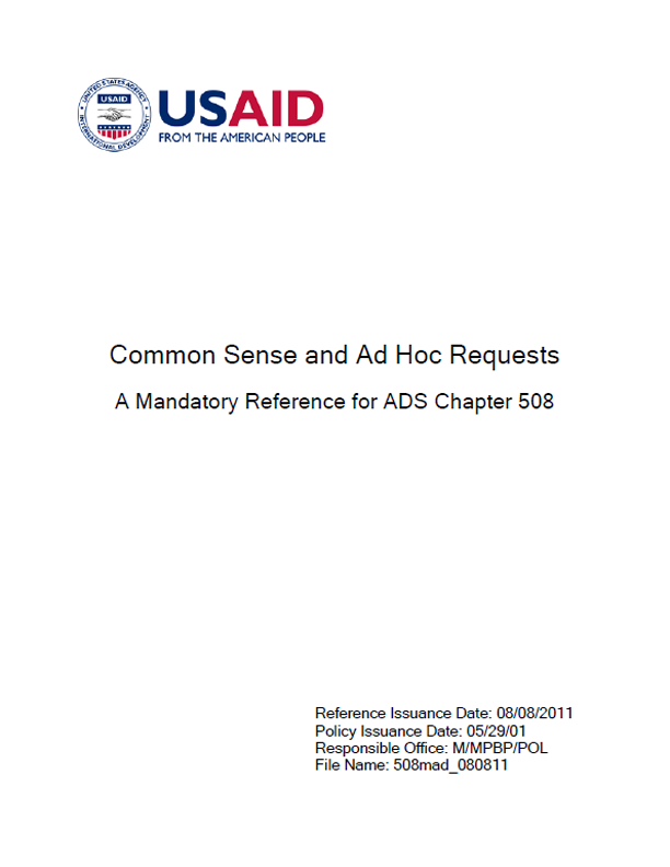 ADS Reference 508mad