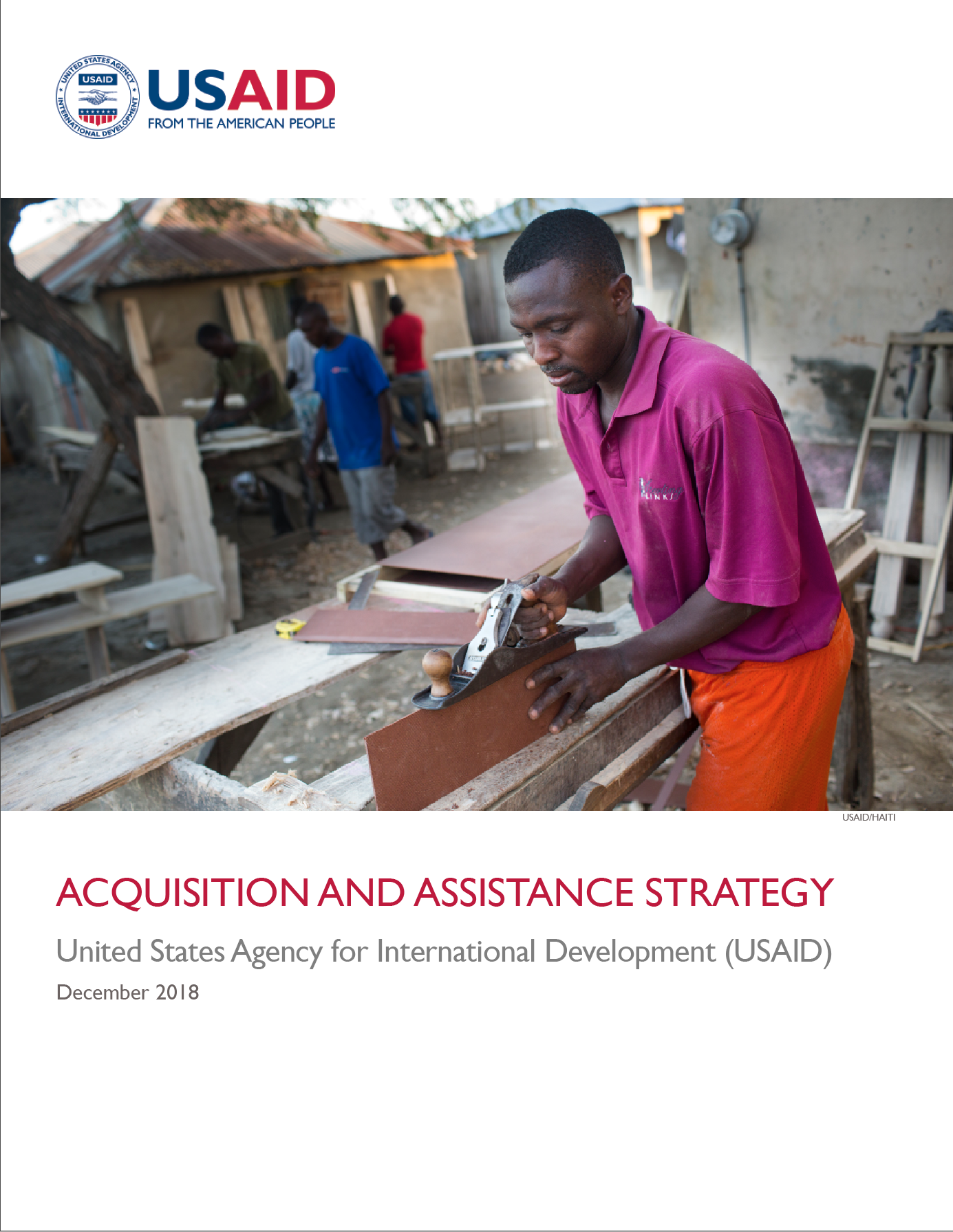 ACQUISITION and ASSISTANCE STRATEGY 2018