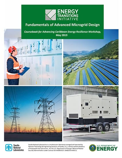 Fundamentals of Advanced Microgrid Design: ACER Coursebook, May 2019
