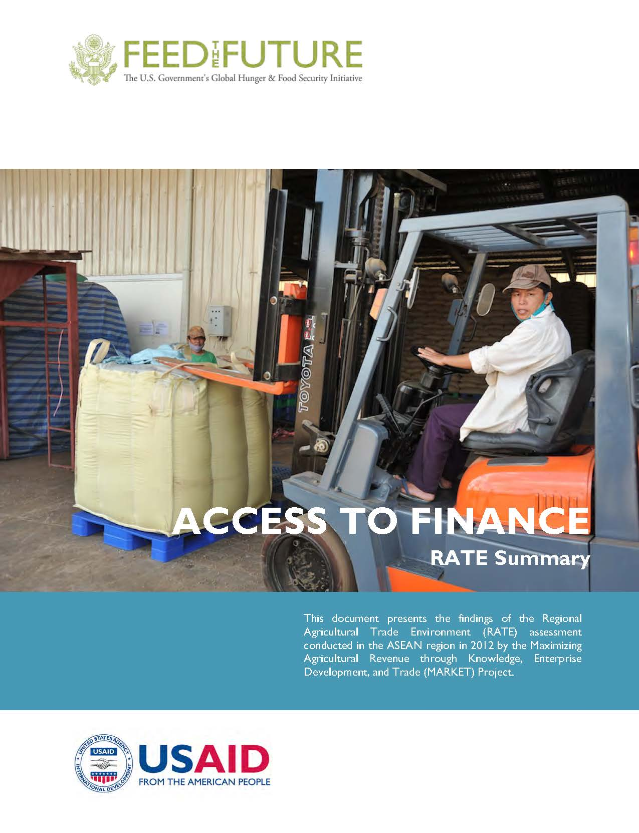 ASEAN Regional Agricultural Trade Environment Assessment Reports: Access to Finance