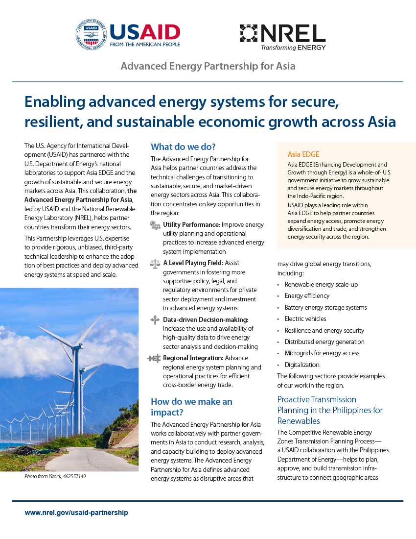 Advanced Energy Partnership for Asia