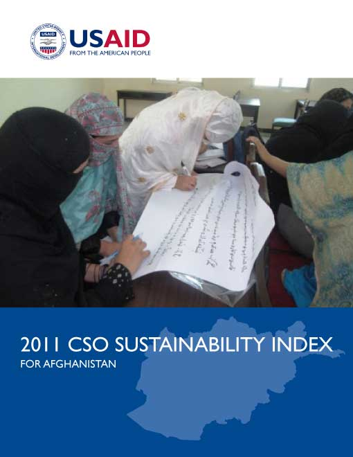 2011 CSO Sustainability Index for Afghanistan
