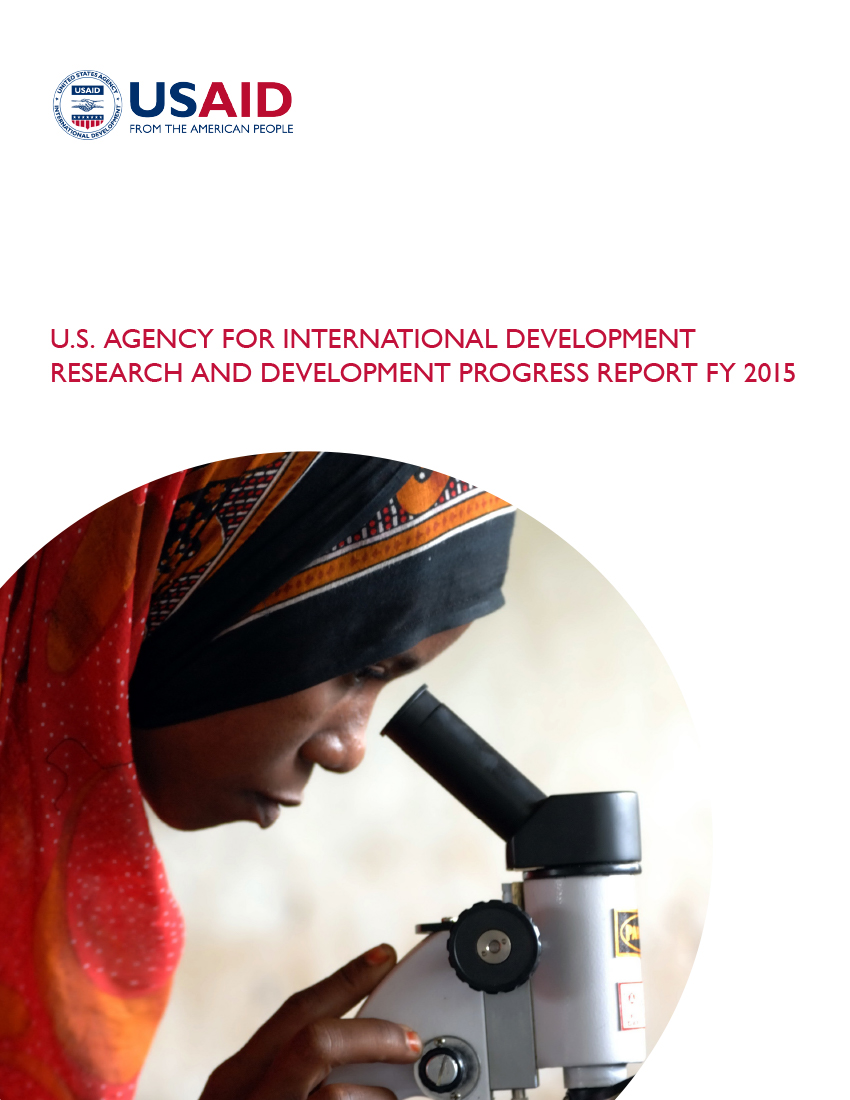 Research and Development Progress Report - FY 2015