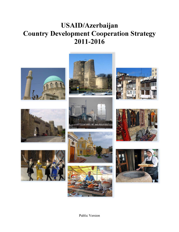 Azerbaijan Country Development Cooperation Strategy 2011-2016