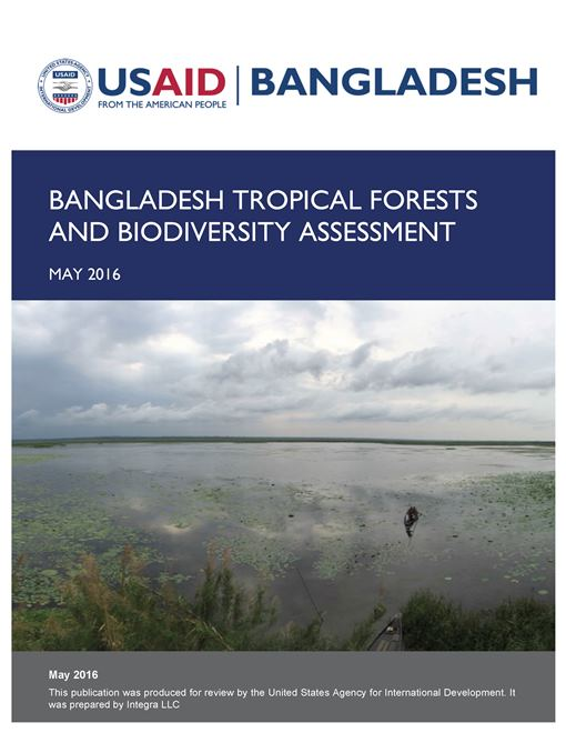 Bangladesh Tropical Forests and Biodiversity Assessment