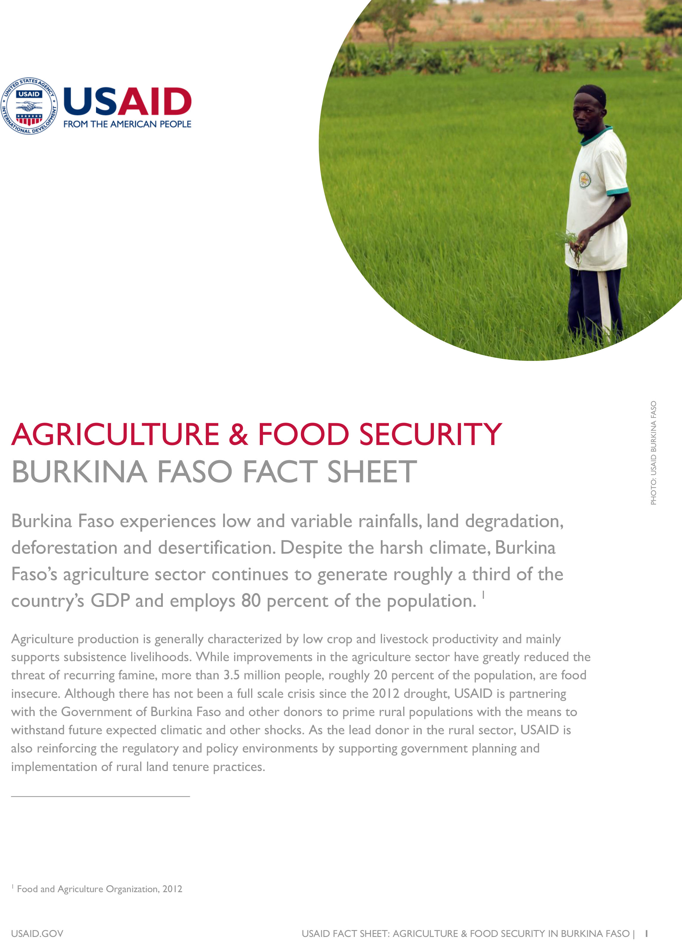 agriculture the way to food security There has been a trend to encourage organic agriculture in response to improve  global food security this article investigated how organic agriculture.