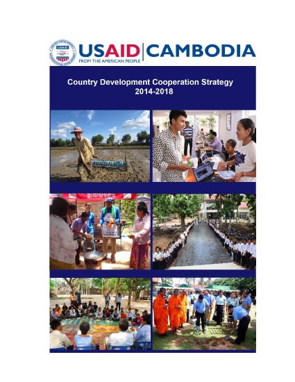 Cambodia Country Development Cooperation Strategy 2014-2018