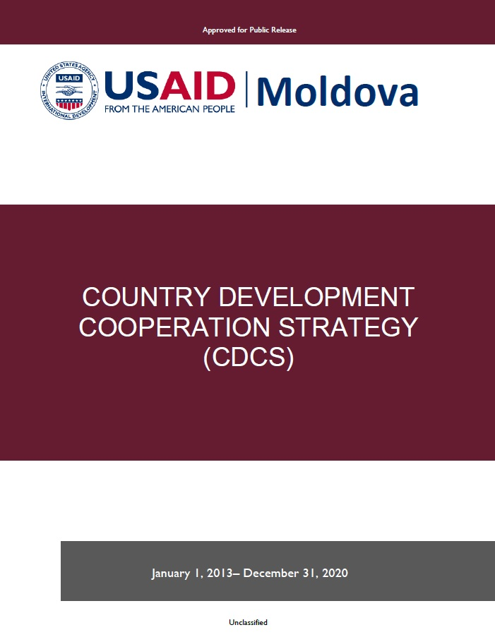 Moldova Country Development Cooperation Strategy 2013 – 2020