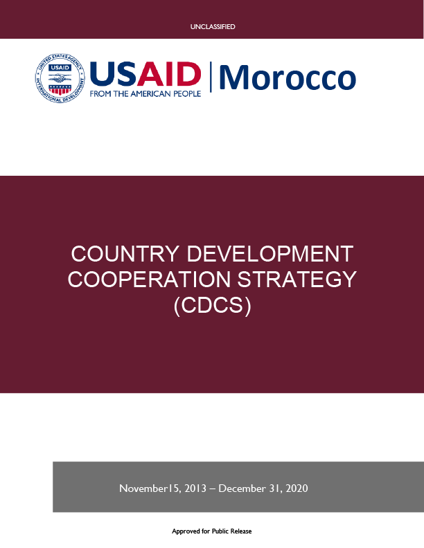 Morocco Development Cooperation Strategy 2013-2020