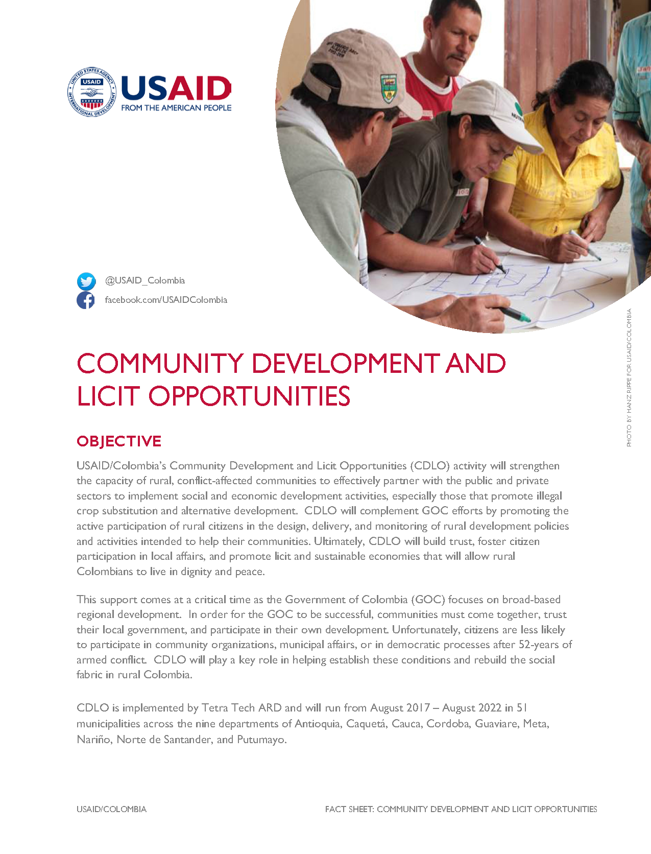 Red Community Development And Licit Opportunities Cdlo U S Agency For International Development