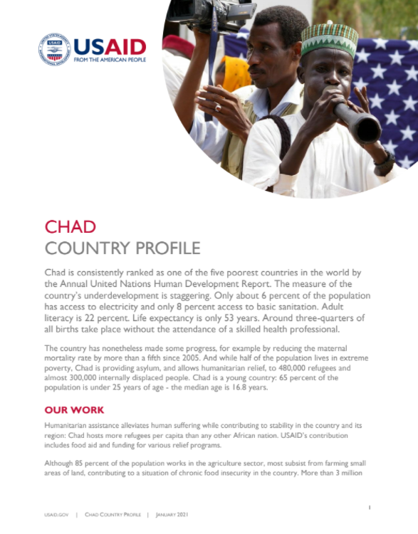 Chad Country Profile