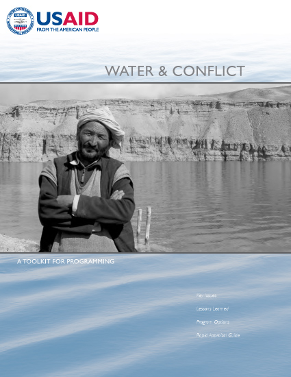 Water and Conflict Toolkit
