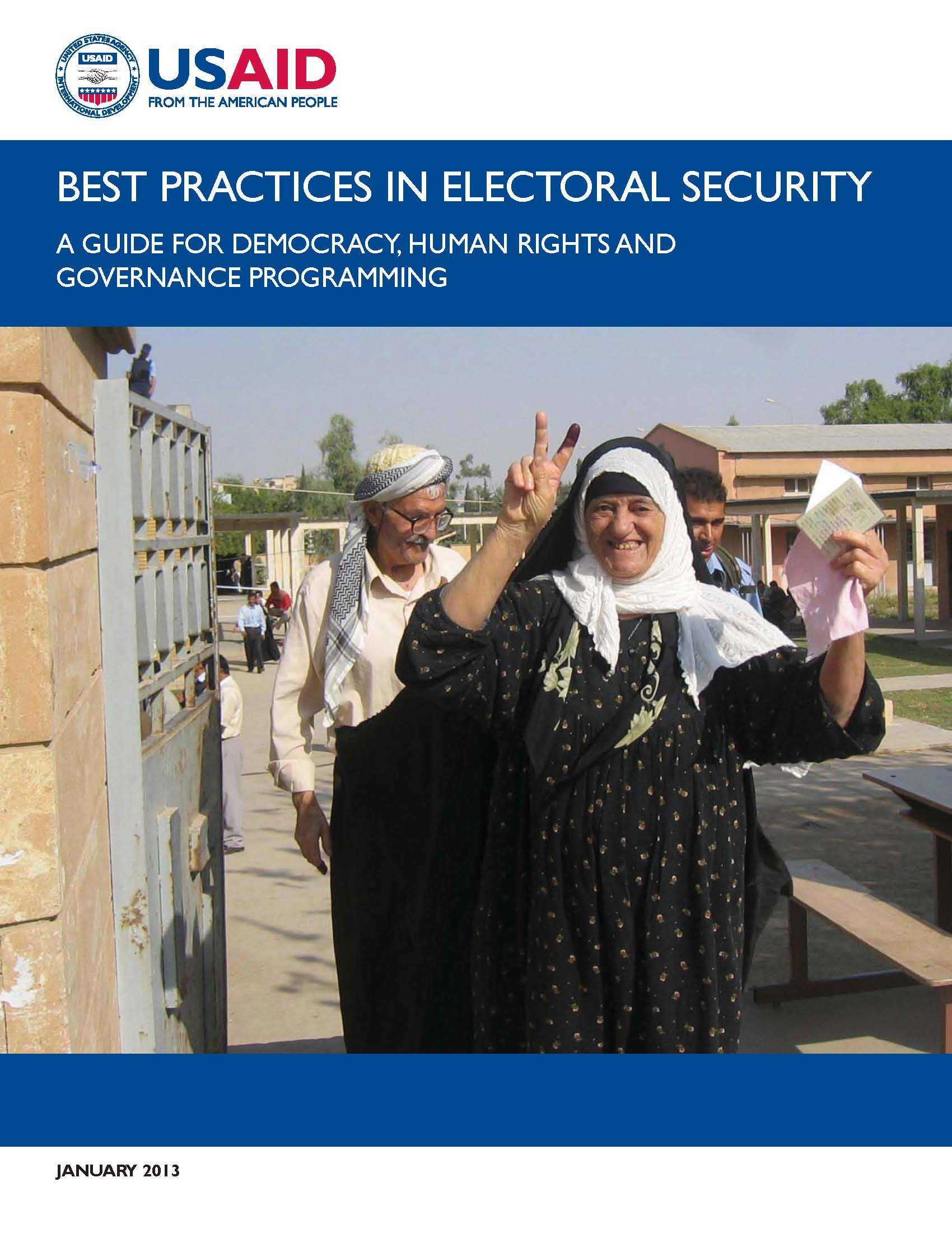 Electoral Security Best Practices Guide
