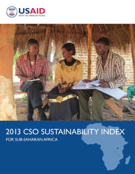 2013 CSO Sustainability Index for Sub-Saharan Africa