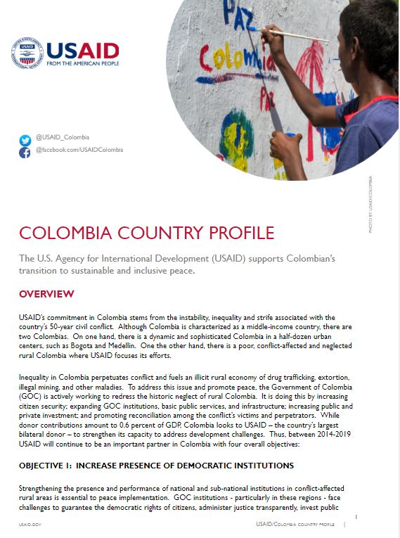 USAID/Colombia Program Overview