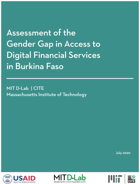 Assessment of the Gender Gap in Access to Digital Financial Services in Burkina Faso