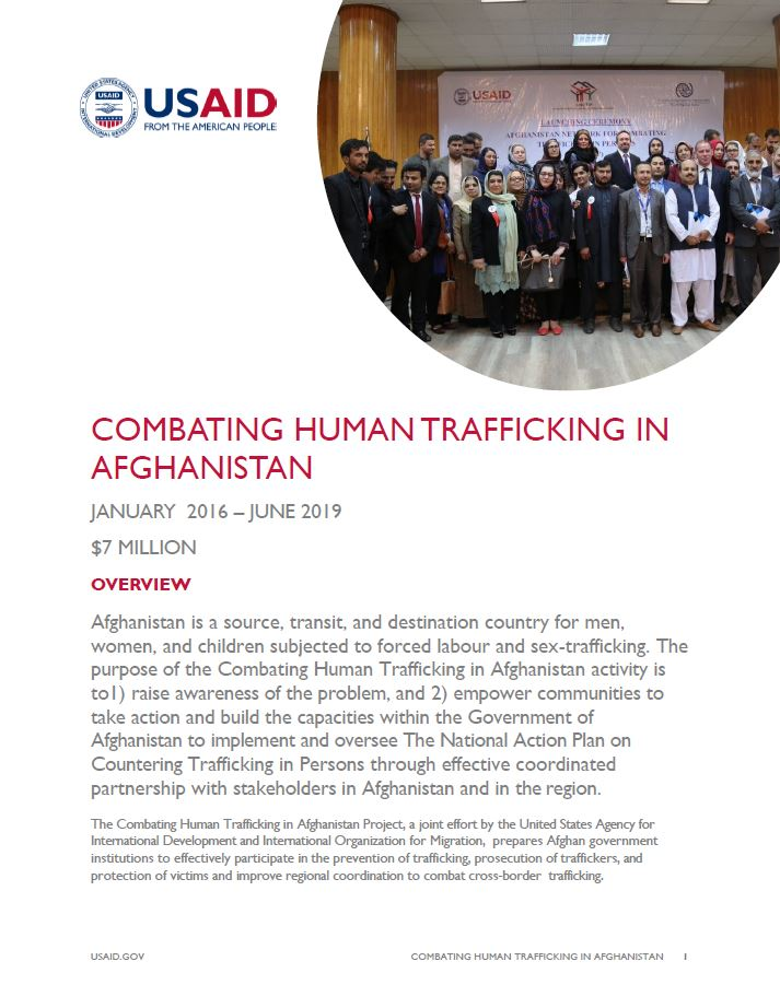 Combating Human Trafficking in Afghanistan