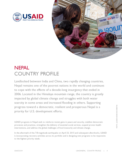 Nepal Country Profile