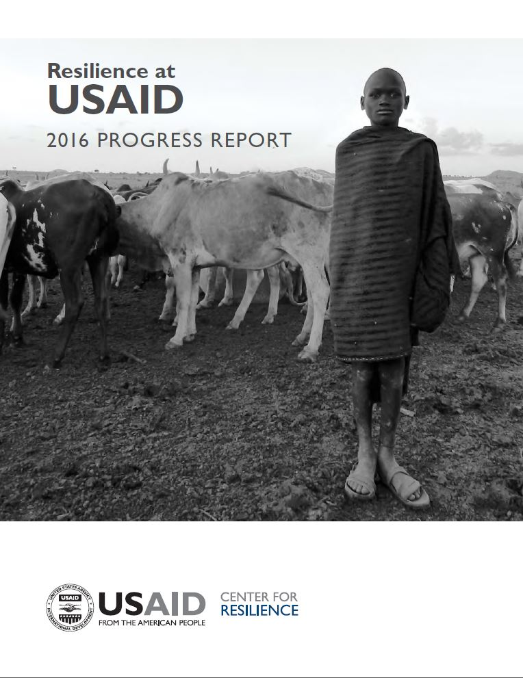 Resilience at USAID 2016 progress report