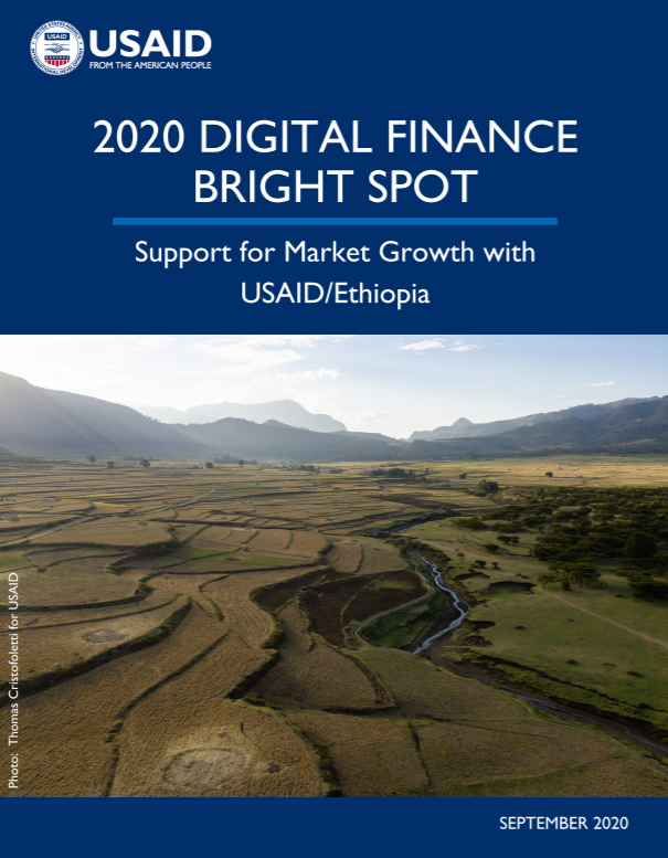 2020 Digital Finance Bright Spot: Support for Market Growth with USAID/Ethiopia