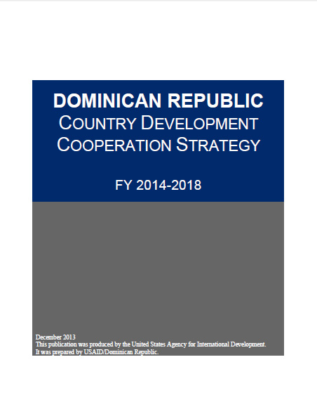 Dominican Republic - Country Development Cooperation Strategy