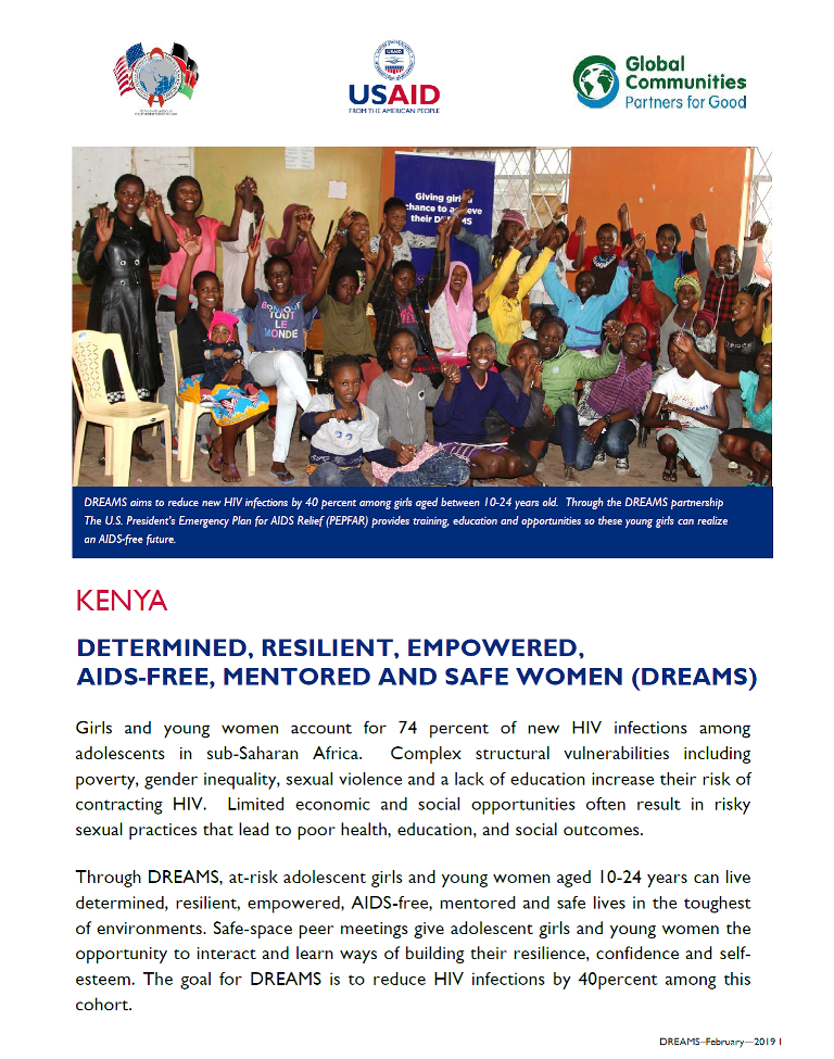 DREAMS fact sheet