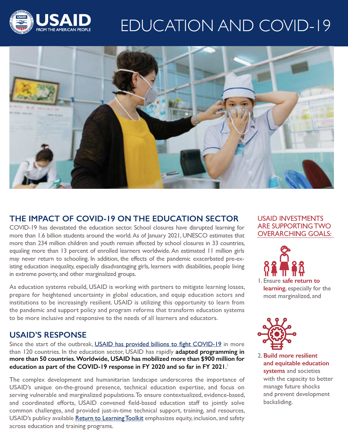 Education and COVID-19