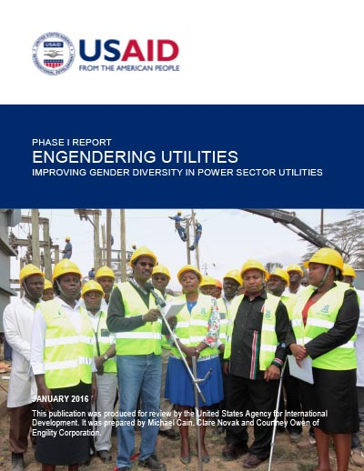 Engendering Utilities Program Phase I Report