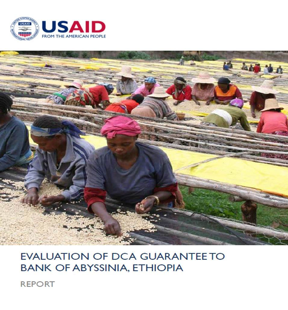 Evaluation Of DCA Guarantee To Bank Of Abyssinia, Ethiopia