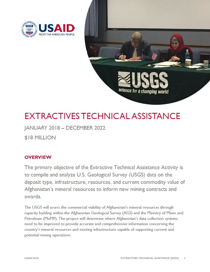 Extractives Technical Assistance