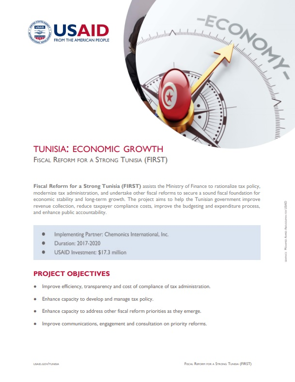 USAID/Tunisia FIRST Fact Sheet