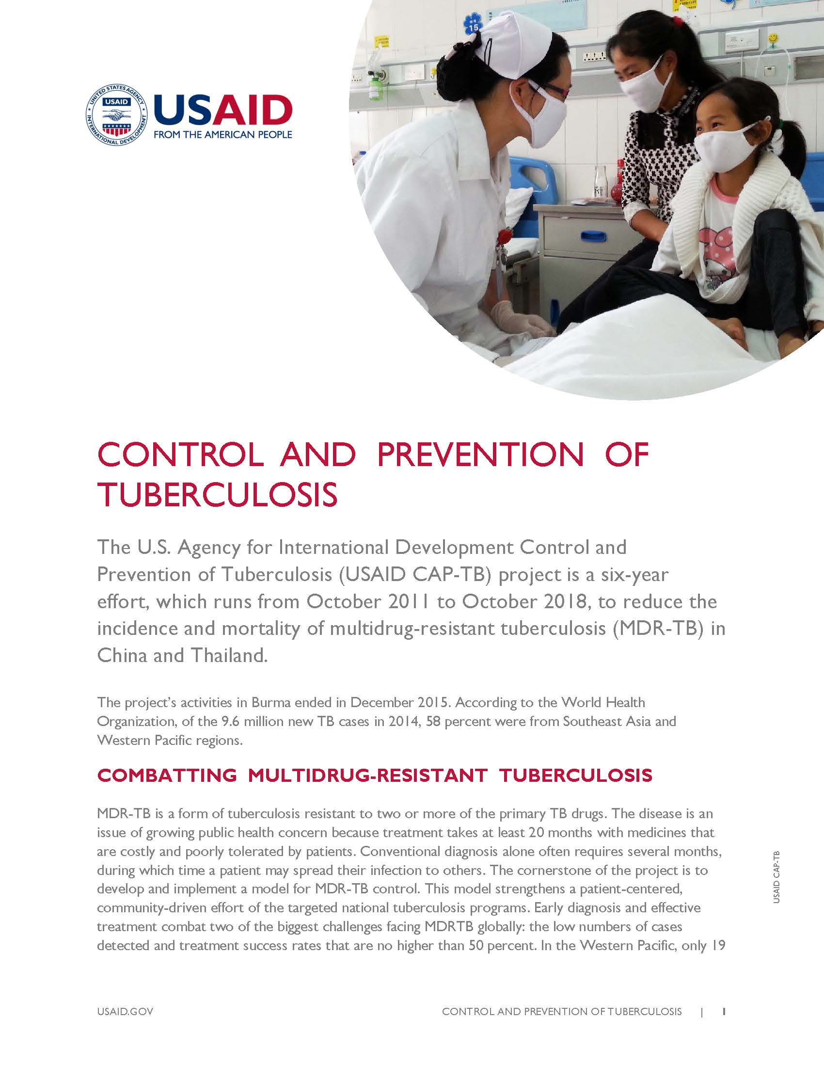 Control and Prevention of Tuberculosis Project