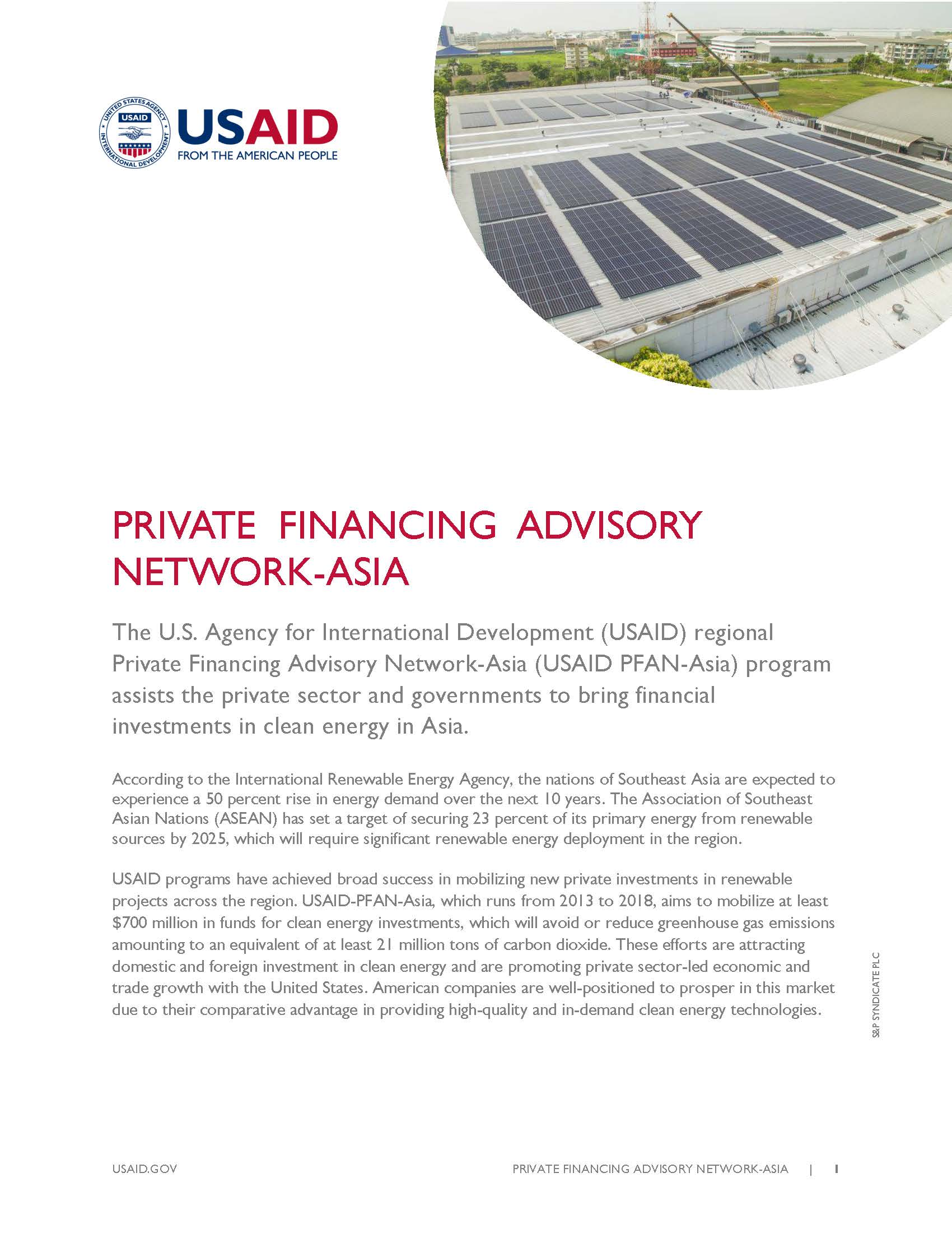Private Financing Advisory Nework-Asia