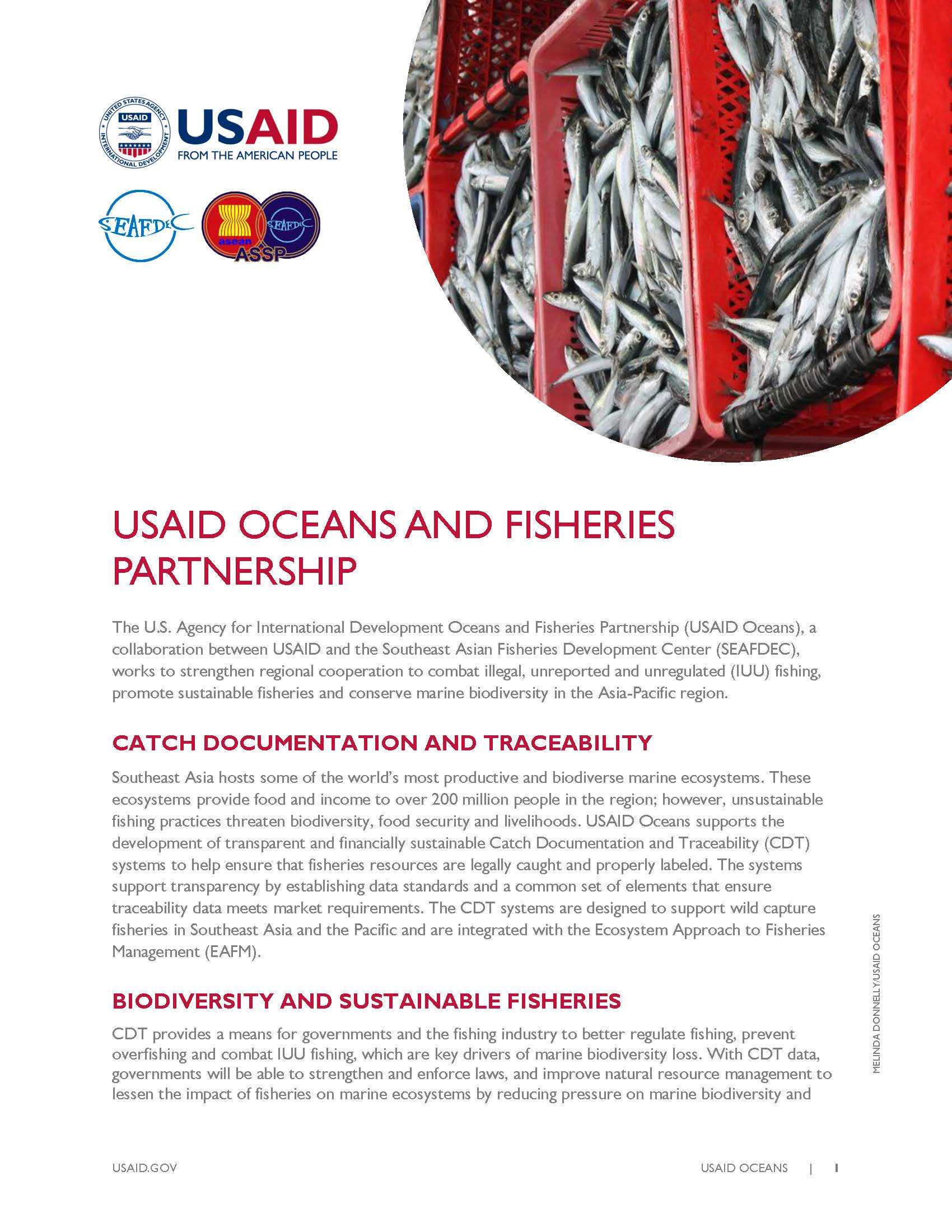 USAID Oceans Fact Sheet