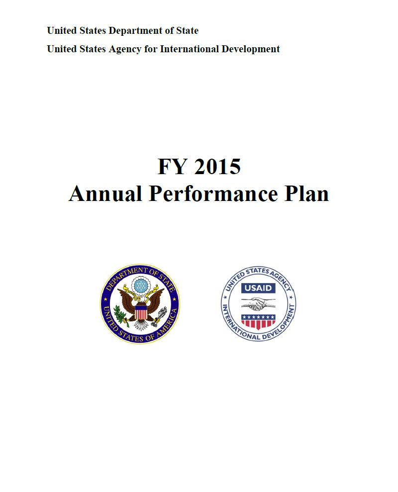 FY 2015 Annual Performance Plan