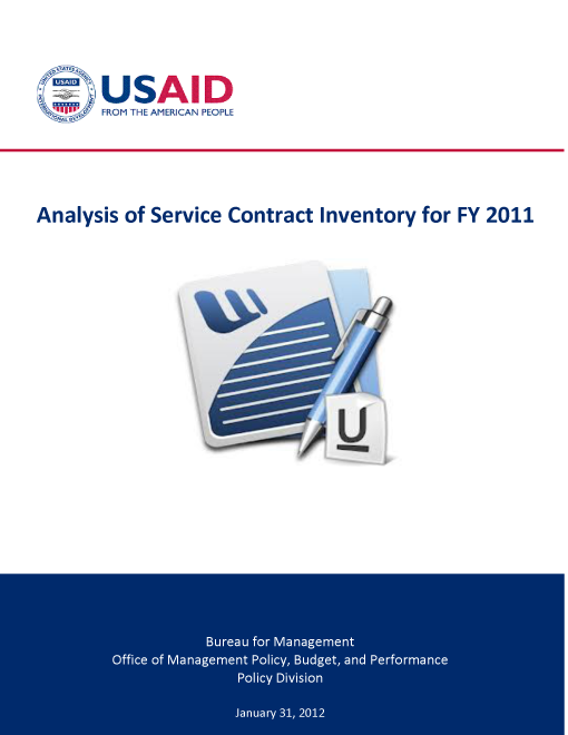 Analysis of Service Contract Inventory for FY 2011