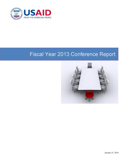 FY 2013 Conference Report